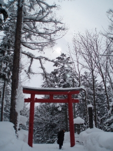 Niseko Cultural School temple and shrine tour