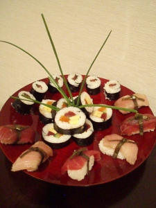 Niseko Cultural School Sushi  class